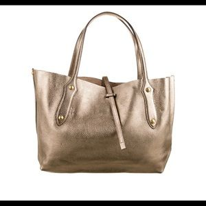 Annabel Ingall Large Isabella Tote in Gold
